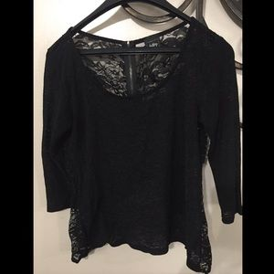 Daytrip lace Flowy top